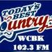 WCBK 102.3 - WCBK-FM Logo