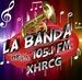 La Banda de la 105.1 - XHRCG Logo