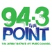 94.3 The Point - WJLK Logo