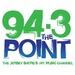 94.3 The Point - WJLK Logo