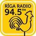 Riga Radio 94.5 FM Logo
