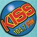 Kiss FM - KTRS-FM Logo