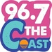 96.7 The Coast - WKJX Logo