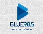 BlueFM 98.5 Logo
