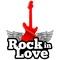 Web Rádio Rock in Love Logo