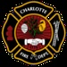 Mecklenburg County and Charlotte Fire Logo