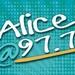 Alice @ 97.7 - WLCE Logo