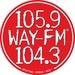 WAY-FM - WAYK Logo