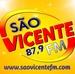 Rádio São Vicente 87.9 Logo