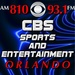 CBS Sports and Entertainment Orlando - WRSO Logo