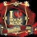 I Love House Music Logo