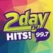 99.7 2day FM - CJGR-FM Logo