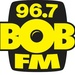 Bob 96.7 - WCVS-FM Logo
