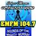 Radio EMFM 104.7 Logo