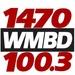 1470 WMBD - WMBD Logo
