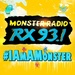 Monster Radio RX 93.1 - DWRX Logo
