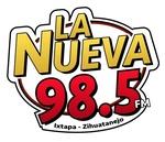 LA Nueva 98.5 FM - XHZHO Logo