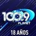 Planet 100.9 FM Logo