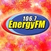 106.7 Energy FM - DWET Logo