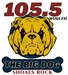 105.5 The Big Dog - WVNA-FM Logo