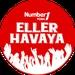 Number1 FM - Number1 Türk Eller Havaya Logo