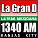 La Gran D - KDTD Logo