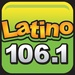 106.1 Latino - KBMG Logo