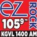 EZ Rock 105.9 - KGVL Logo