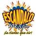 Escandalo 102.5 FM Logo