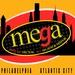 Mega 105.7 - WEMG Logo