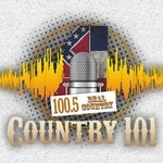 100.5 The New Sound of Country - WBLE Logo