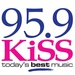 KiSS 95.9 - CHFM-FM Logo