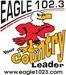 Eagle 102.3 - WELR-FM Logo