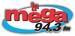 La Mega 94.3 FM - XEVO Logo