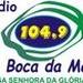 Rádio Boca da Mata FM 104.9 Logo