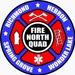North Quad Fire and EMS Logo