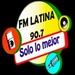 Radio Latina 90.7 Logo