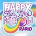 Dash Radio - Happy Fun Time Rainbow Radio - Happy Hits Logo