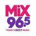 Mix96.5 - KRAV-FM Logo