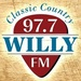 Willy 97.7 - KNDE-HD4 Logo