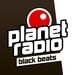 planet radio - Black Beats Logo