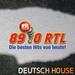 89.0 RTL - Deutsch House Logo