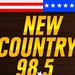New Country 98.5 - KACO-FM Logo