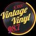 98.7 Vintage Vinyl - KRQU Logo
