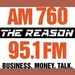 AM 760 The Reason - KGU Logo