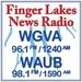 Finger Lakes News Radio - WAUB Logo