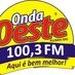 Rádio Onda Oeste FM - 100.3 FM Logo