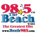 98.5 The Beach - WSBH Logo