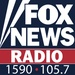 Fox News Radio 1590 AM - KDJS Logo