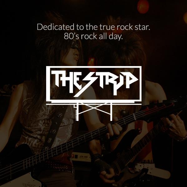 Dash Radio - The Strip - 80's Hair Band Rock